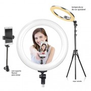 Ring Light Profissional com Tripé de 2.20m e suporte de celular