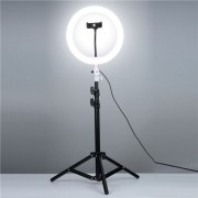 SELFIE RING LIGHT COM TRIPE PARA YOUTUBE LIVE STRE