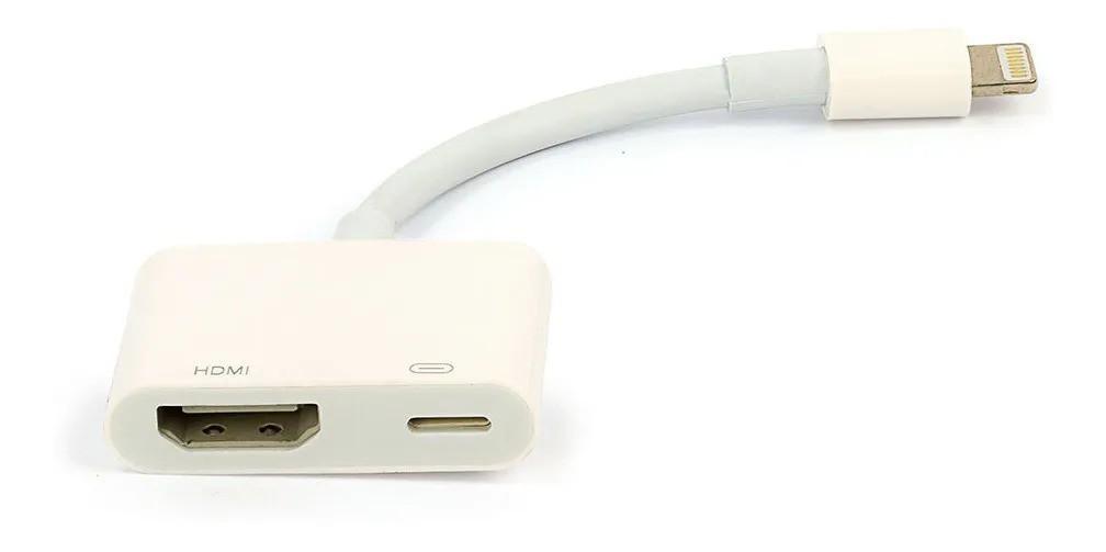 Adaptador Apple Lightning Av Adapter Hdmi iPhone