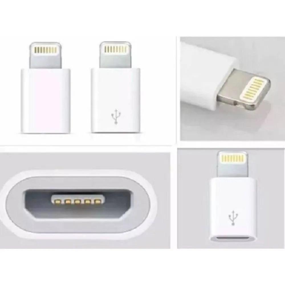 ADAPTADOR / CONECTOR MICRO USB P/ LIGHT 8 PINOS
