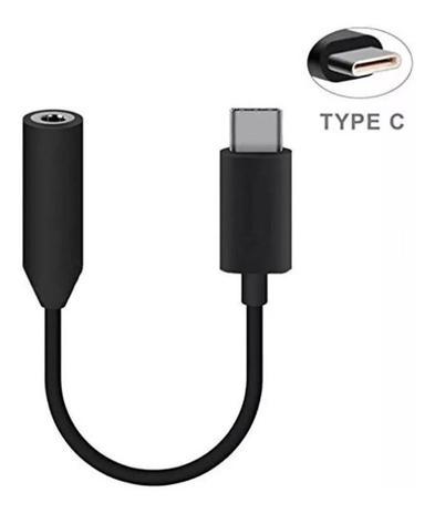 Adaptador Fone de Ouvido P2 3.5mm para USB Tipo-C