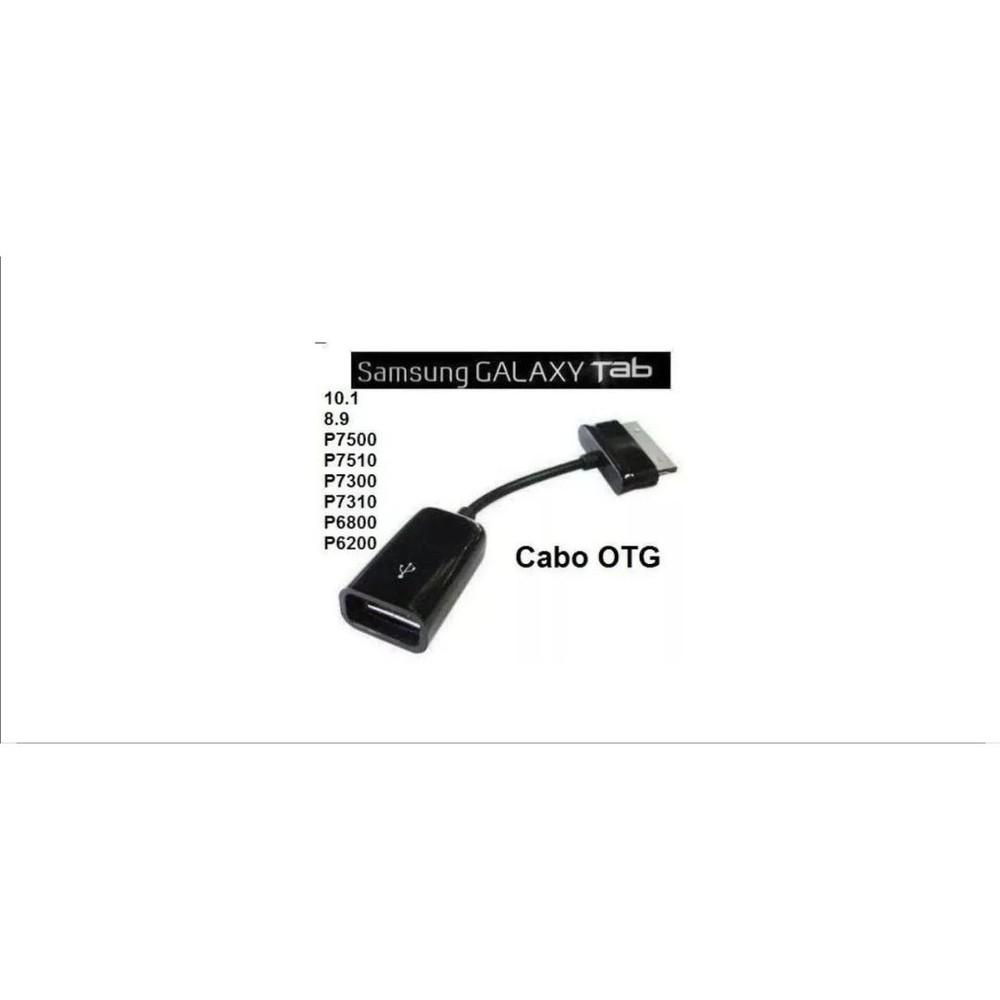 CABO ADAPTADOR TABLET GALAXY MACHO X USB FEMEA