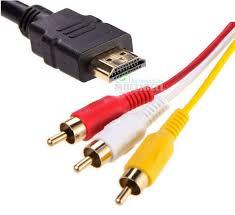 CABO HDMI X 3RCA ( 5.0 METROS )