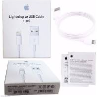 CABO LIGHTNING USB 1M APPLE ORIGINAL