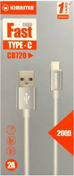 CABO TYPE-C USB PREMIUM 2M KIMASTER CB720