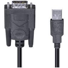 CABO VGA DB9 X SERIAL USB ( 0,80 METROS )