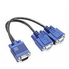 CABO Y1 VGA DB15 (MACHO) X 2 VGA DB15 (FEMEA)