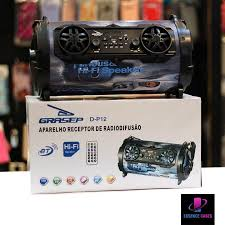 Caixa de Som Bluetooth Grasep D-P12