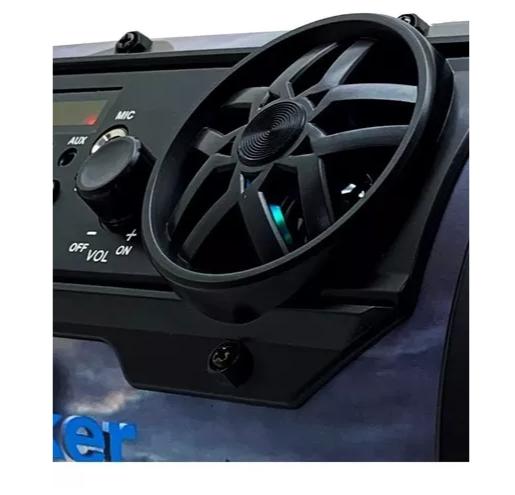 Caixa de Som Bluetooth Grasep D-P11 Amplificada