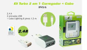CARREGADOR DE BATERIA X-CELL XC-IPH. 5/6 UR3