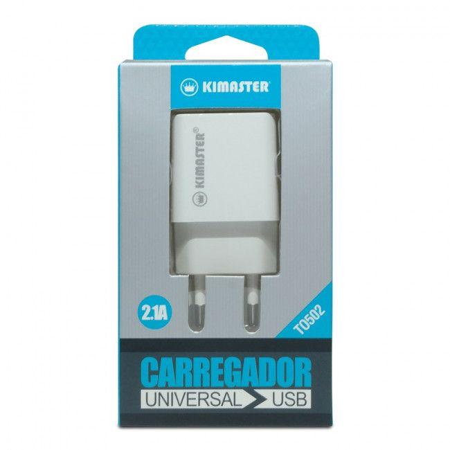 CARREGADOR KIMASTER UNIVERSAL USB TO502