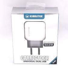 CARREGADOR UNIVERSAL DUPLO USB KIMASTER TO350