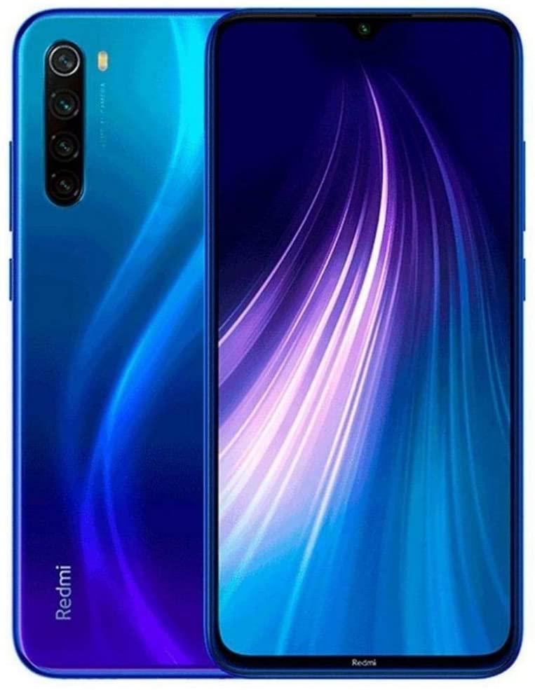 CELULAR XIAOMI REDMI NOTE 8 DUAL 128GB NEPTUNE BLUE / Azul