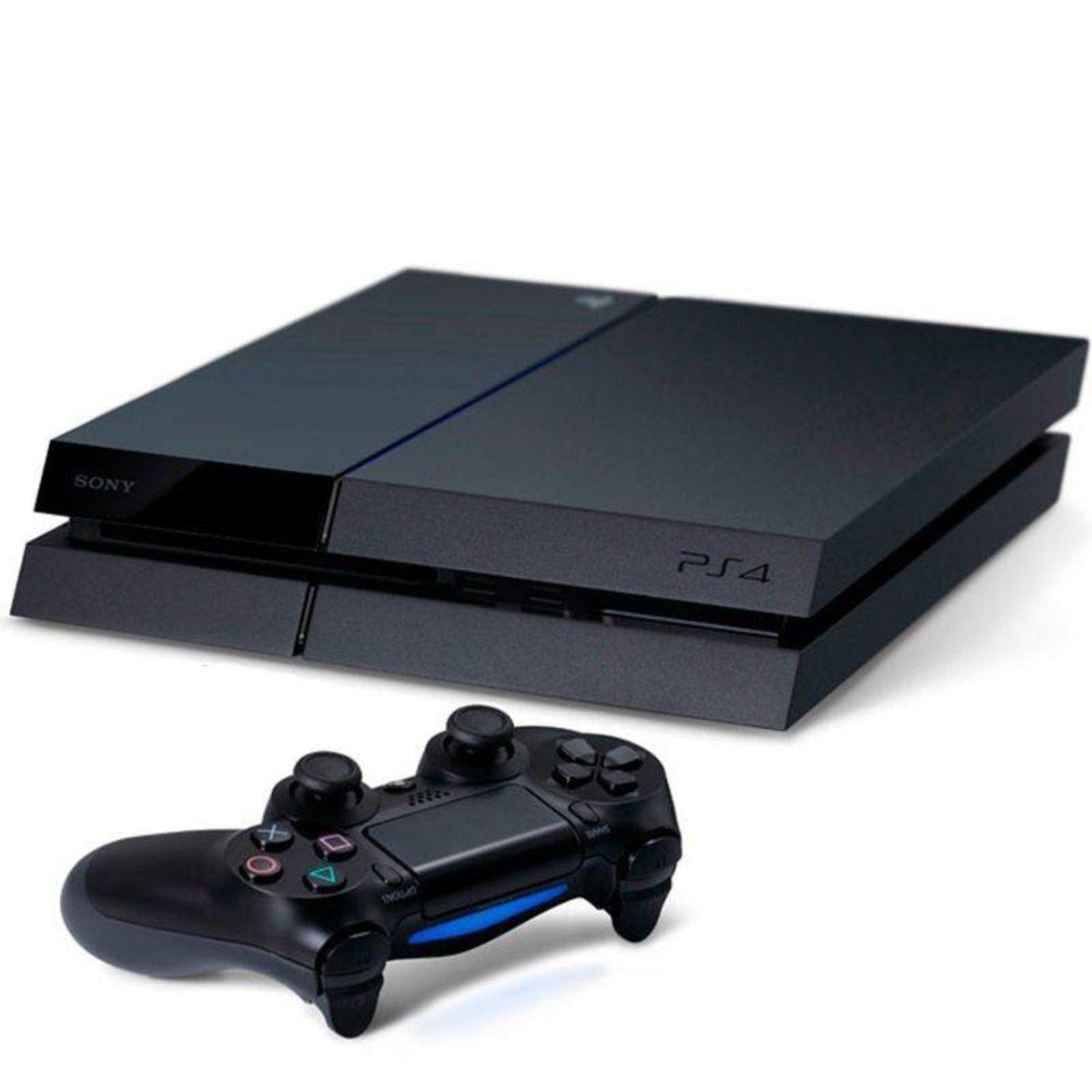 Console Playstation 4 1Tb Bundle com 3 jogos