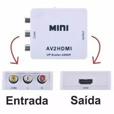 CONVERSOR RCA/HDMI