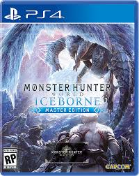 JOGO PARA PS4 - MONSTER HUNTER ICEBORNE
