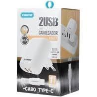 KIT CARREGADOR 2 USB KT627