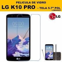 PELICULA DE VIDRO LG K10 PRO