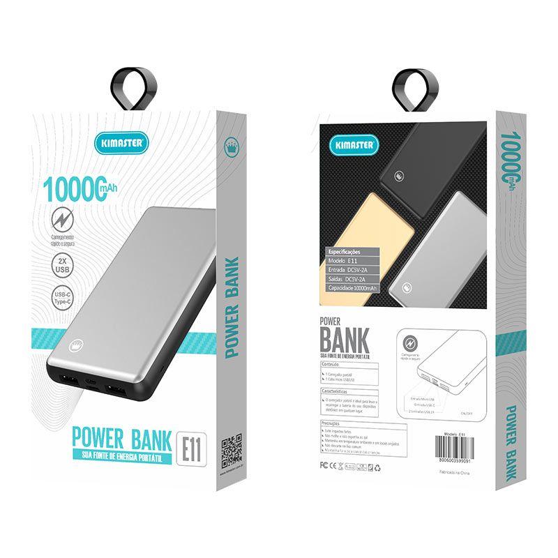POWER BANK 10 K KIMASTER E11