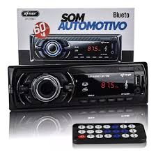 RADIO DE CARRO KNUP BT 60WX4