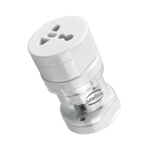 Adaptador Universal Bivolt Newlink Ad101 Branco