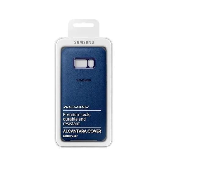 Capa Protetora Alcantara  Samsung Galaxy S8+ Original
