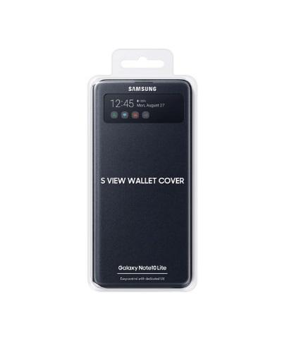 Capa Protetora Flip Wallet Galaxy Note 10 Lite - Original