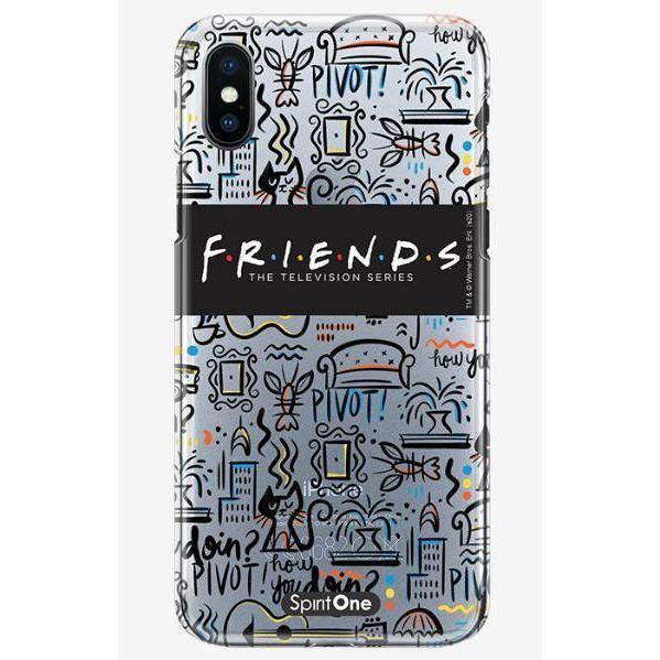 Capinha Friends - Elementos - Transparente - Oficial para Iphone 11 Pro Max