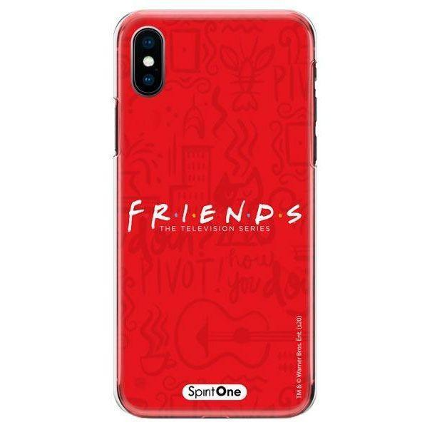 Capinha Friends - Fundo Vermelho - Oficial Warner para Iphone 11 Pro Max