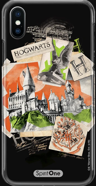 Capinha Harry Potter - Fotos Hogwarts Anti Impacto - Oficial Warner
