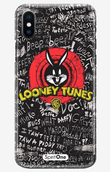 Capinha Looney Tunes - Apresentação Perna Longa -Anti Impacto Oficial Warner