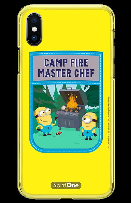Capinha Minions - Meu Malvado Favorito - Camp Fire Master Chef Anti Impacto - Oficial Universal