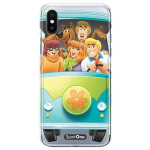 Capinha Scooby Doo - Personagens The Mystery Machine - Transparente - Oficial Warner para Iphone 11 Pro Max