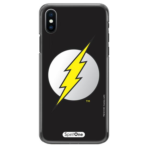 Capinha The Flash - Símbolo Fundo Preto - Oficial Warner para Iphone 11 Pro Max