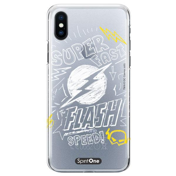 Capinha The Flash - Super Fast The Flash Speed - Transparente - Oficial Warner para Iphone 11 Pro Max