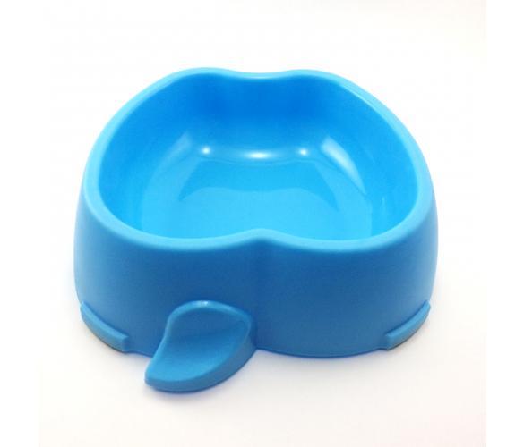 Comedouro Pet  Frutal Maça Grande 800ml Azul