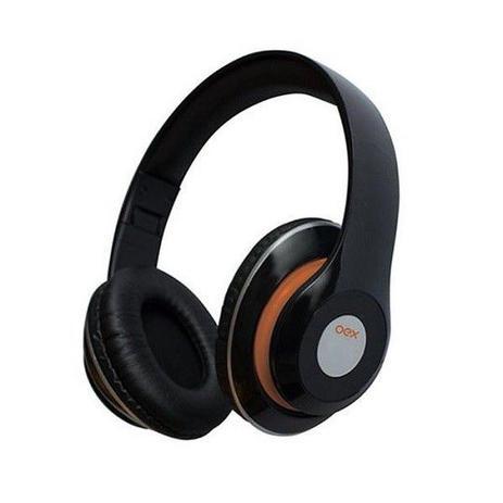 Fone de Ouvido Bluetooth com Microfone Balance Preto OEX HS301
