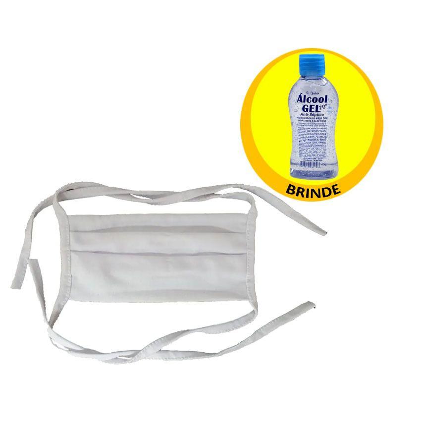 Máscara 100% Algodão Reutilizável Gbmax+ Brinde