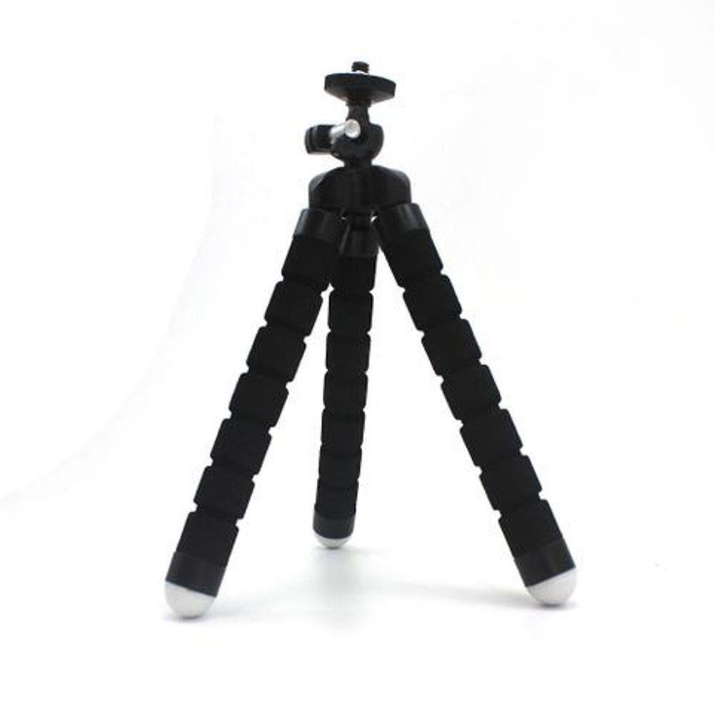 Mini Tripé Flexível Ajustável para Celulares  Gbmax Preto