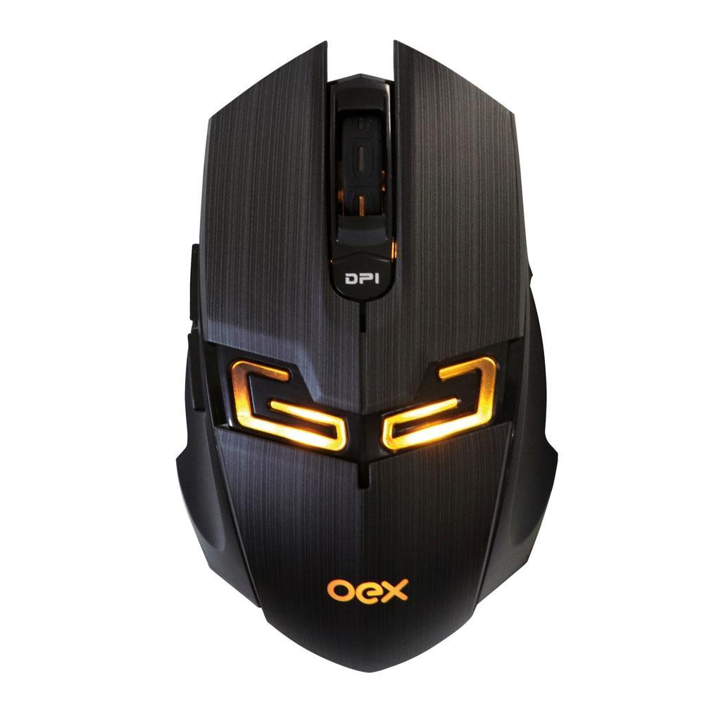 Mouse Oex Game USB Killer 4.000DPI com LED - MS312