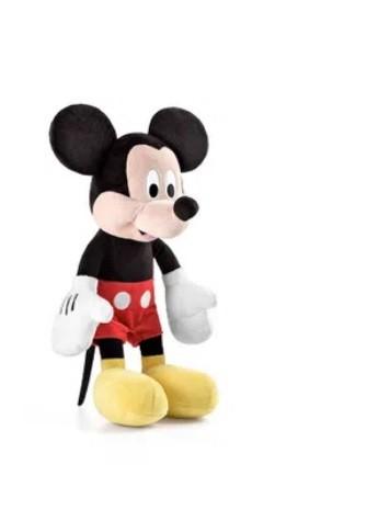 Pelúcia Mickey 33cm com Som Alimentação por 3 Pilhas LR44 Indicado para +3 Anos Multikids - BR332