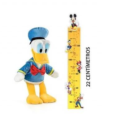 Pelúcia Pato Donald 22cm com som Indicado para +3 Anos Multikids - BR3869