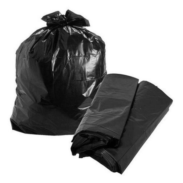 Saco De Lixo Resistente Doméstico 100 Litros - 100 Unidades