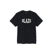 Camiseta Compact Embroidery Black Blaze Supply