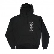 Moletom Hoodie Small Circle Pipe Black Blaze Supply
