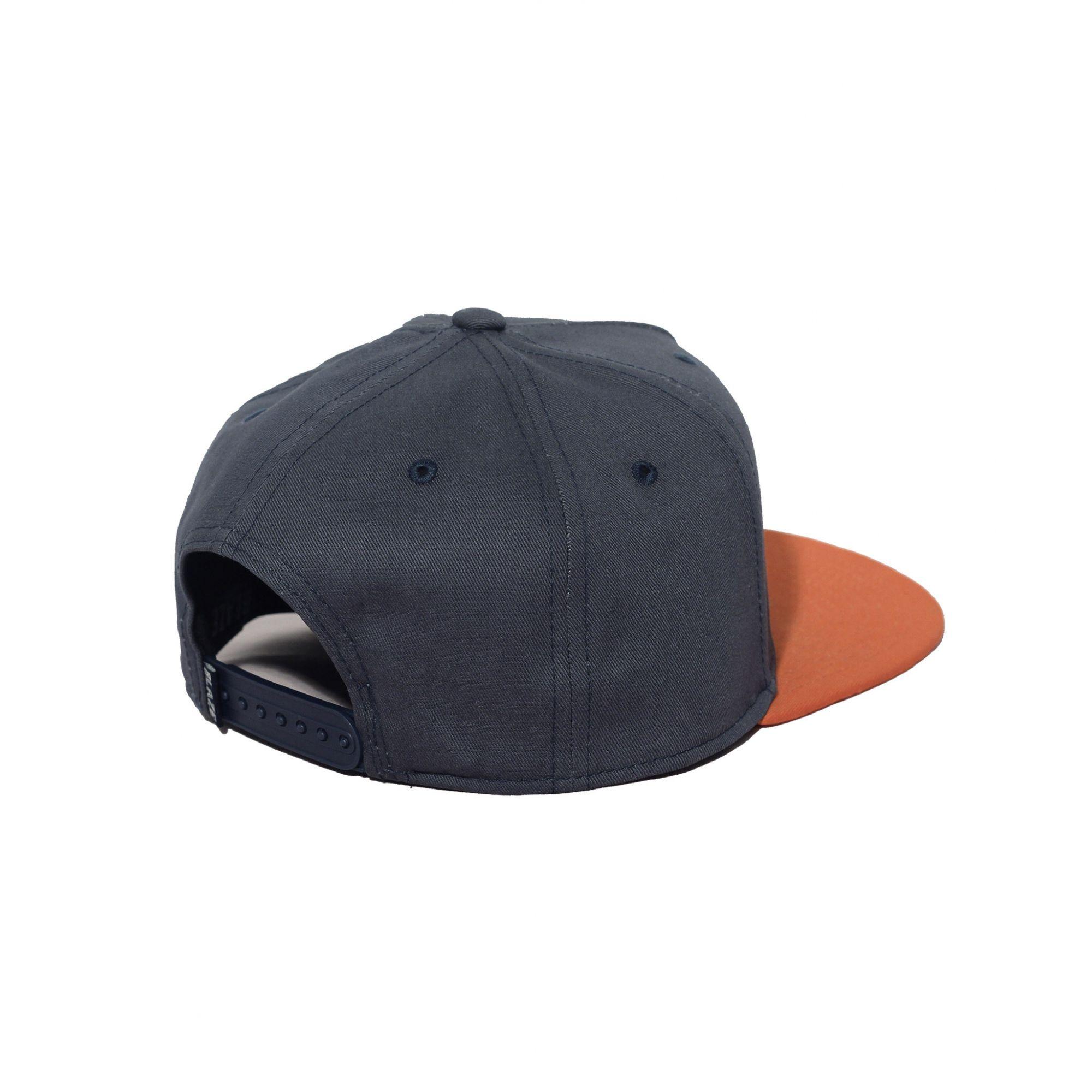 Boné Snapback Big B Script Blaze Supply Blue/ Orange