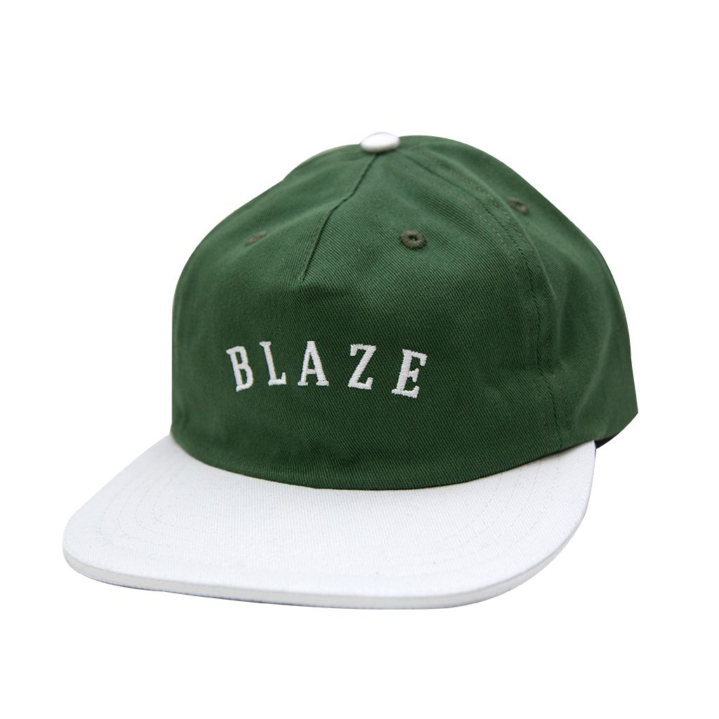 Boné Snapback Blaze Curve Blaze Supply Green