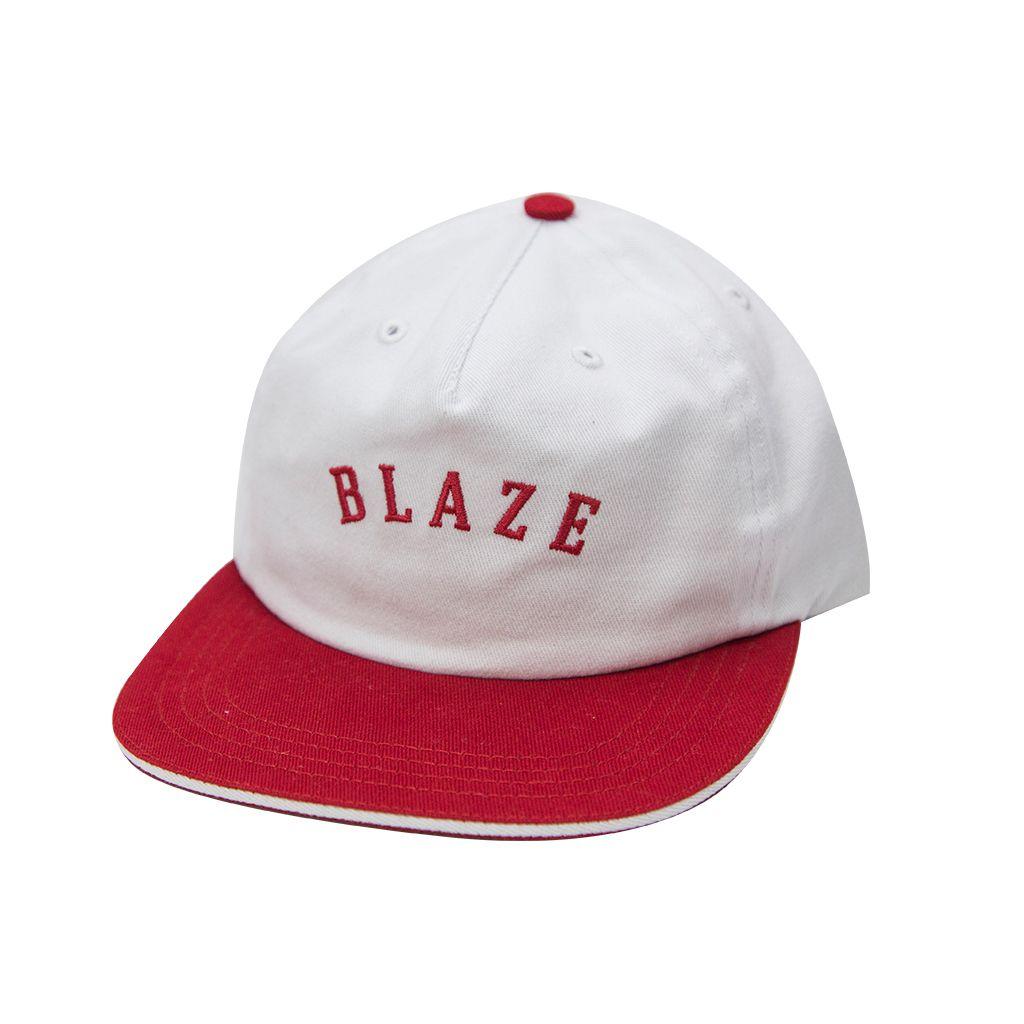 Boné Snapback Blaze Curve Blaze Supply White