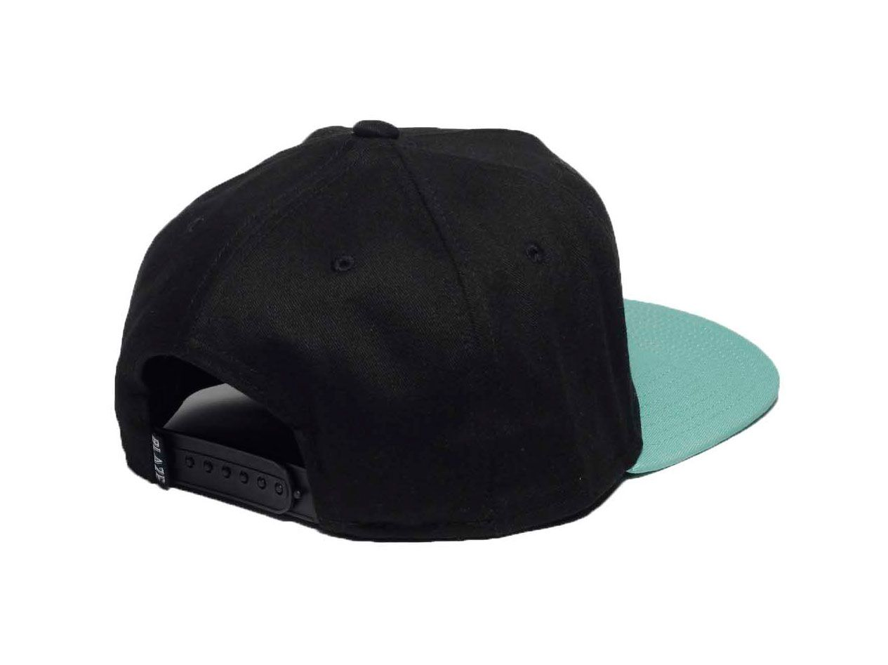 Boné Snapback Pipe Blaze Supply Black/ Acqua