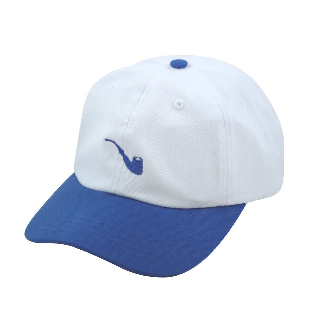 Boné Strapback Pipe White Blue